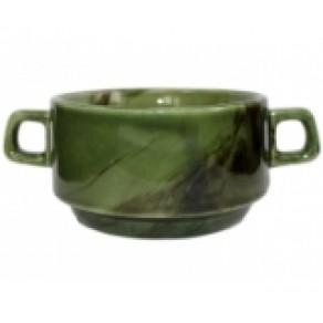 "Бульонница ""Радуга"" зеленая (Км-16260), 6*10 см, 0,32 л"