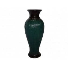 "Ваза ""Кокетка средняя"" зеленая (ВВР-18525), 26 см"