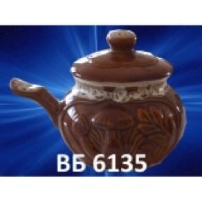 """Горшок """"жульенница"""" (Гриб Пена), арт. (Вб-6235), 0,32 л"""