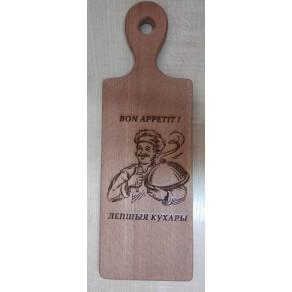 Доска деревянная (бук) РИС, 30*10*1,5 см, арт. ИШД-176360