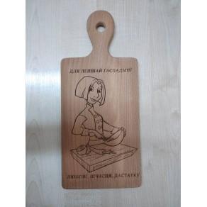 Доска деревянная (бук) РИС, 33*15*1,5 см, арт. ИШД-176310