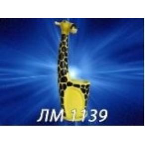 """Вазон цветочный """"Жираф"""", арт. ЛМ-1139, 1,5 л"""