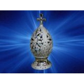 "Иконостас ""Яйцо"" зол./сер., ср., арт. ВР-2554, 17 см"