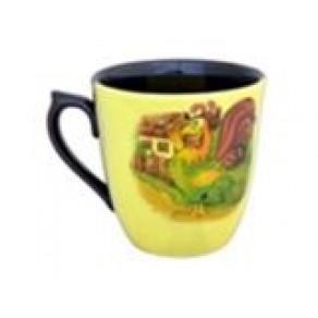 """Чашка """"Петухи"""", арт. СХ-11339, 0,5 л"""