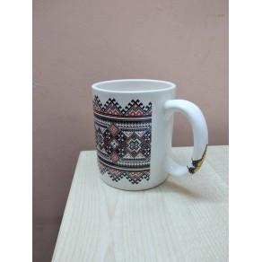 """Чашка """"Цилиндр"""", деколь, арт. (Тас-15896)"""
