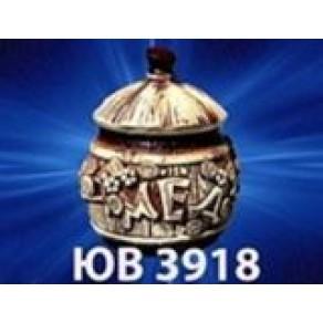 Горшок для меда, арт. ЮВ-3918, 17*12 см, 0,6 л