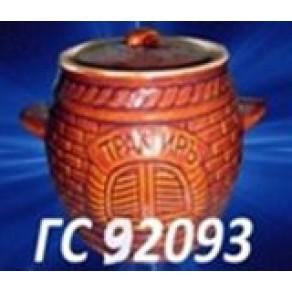 Горшок для запекания и тушения 0,6л, арт13343/7, 11*12 см