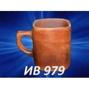 """Чашка чайная """"Квадрат"""" гладкая, арт. (Ив-979)"""