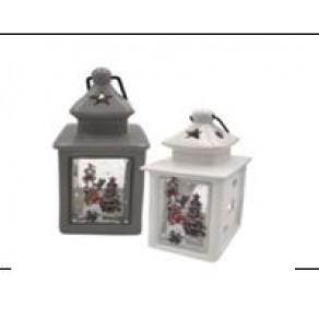 Лампа керамическая рождественская 7x7x15 cm  Арт. PMEC7334