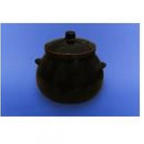 Горшок для жаркого 0,600 л коричневый Арт.СВИ-18221