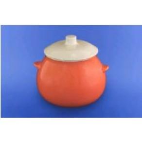 Горшок для жаркого 0,600 л оранжевый СВИ-28942